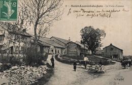 39 SAINT-LAURENT-du-JURA   CPA  RARE     Le Coin D'Amont - Sonstige Gemeinden