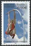 Andorre Français - Y&T N° 583 ** -  2003 - Sport Championnats Du Monde D'Hatlétisme - Sin Clasificación