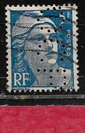 Z42  Perfin France  Perfore OCP 13  Sur Gandon N° 719b - Gezähnt (Perforiert/Gezähnt)
