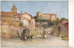 "2d.130.  ROMA - Collezione ""Roma Sparita"" - Borgo Angelico - Panoramic Views"