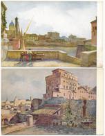 """2d.125.  ROMA - Collezione """"Roma Sparita"""" - Lotto Di 7 Cartoline - Multi-vues, Vues Panoramiques"""