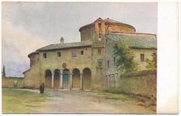 """2d.126.  ROMA - Collezione """"Roma Sparita"""" - S. Stefano Rotondo - Panoramic Views"""