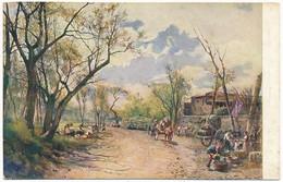 """2d.131.  ROMA - Collezione """"Roma Sparita"""" - Prati Di Testaccio - Panoramic Views"""