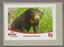 BRD - Privatpost - Brief Und Mehr -  Malaienbär ( Helarctos Malayanus Bzw. Ursus Malayanus) - Privados & Locales