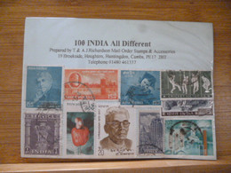 INDIA USED 100 ALL DIFFERENT IN PKT - Ohne Zuordnung