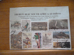 SOUTH AFRICA USED 100 ALL DIFFERENT IN PKT - Ohne Zuordnung