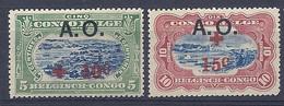 210038991  RUANDA-URUNDI.  YVERT  Nº  36/7  */MH - 1916-22: Mint/hinged
