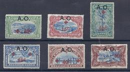 210038996  RUANDA-URUNDI.  YVERT  Nº  36/41  */MH - 1916-22: Mint/hinged