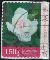 Luxembourg 2017 Oblitéré Used Rose Princesse Marie Adélaïde Sur Fragment SU - Usados