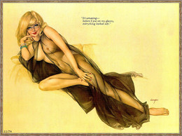 Postcard 4x6 Inc ( 10 X 15 Cm ) Erotic Sexy Extremely Stunning Glamour Beauty Pin-Up Girl Art-2-P0179 - Pin-Ups