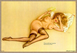 Postcard 4x6 Inc ( 10 X 15 Cm ) Erotic Sexy Extremely Stunning Glamour Beauty Pin-Up Girl Art-2-P0180 - Pin-Ups