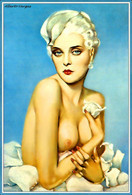 Postcard 4x6 Inc ( 10 X 15 Cm ) Erotic Sexy Extremely Stunning Glamour Beauty Pin-Up Girl Art-2-P0183 - Pin-Ups