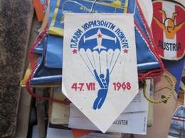 Parachutting Old Flag  Plavi Horizonti Pozege 1968 - Parachutting
