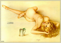 Postcard 4x6 Inc ( 10 X 15 Cm ) Erotic Sexy Extremely Stunning Glamour Beauty Pin-Up Girl Art-2-P0191 - Pin-Ups