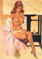 Postcard 4x6 Inc ( 10 X 15 Cm ) Erotic Sexy Extremely Stunning Glamour Beauty Pin-Up Girl Art-P0506 - Pin-Ups