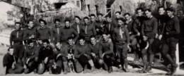 ST SAINT DALMAS DE VALDEBLORE C.1939-40 Chasseurs Alpins - Photo 9x6cm... - Other Municipalities