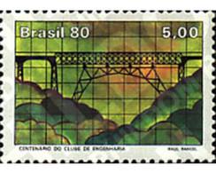 Ref. 57789 * MNH * - BRAZIL. 1980. CENTENARY OF THE ENGINEER'S CLUB . CENTENARIO DEL CLUB DE LOS INGENIEROS - Nuevos
