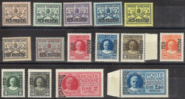 VATICANO 1931 - Pacchi Postali - 15 Val. Nuovi**  (1084) - Nuovi