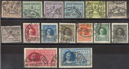 VATICANO 1929 - Conciliazione - 15 Val. Usati  (1082) - Ungebraucht
