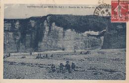 SOTTEVILLE-sur-MER (Seine-Maritime): Entrée De La Gorge Du Mesnil-Argant - Other Municipalities
