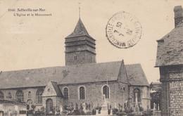 SOTTEVILLE-sur-MER (Seine-Maritime): L'Eglise Et Le Monument - Andere Gemeenten