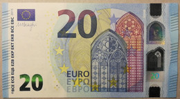 EUROPEAN CENTRAL BANK - France (EC) E005G1 - P.22U – 20 EURO 2015 - UNC - Firma DRAGHI - 20 Euro