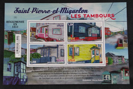 Saint Pierre Et Miquelon 2021 : Les Tambours Bloc Neuf - Sin Clasificación