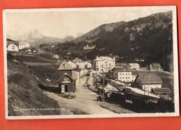 ZOH-17 RARA Santa Cristina Valgardena  Stazione. Foto Ghedina Cortina D'Ampezzo Viaggiatta 1906 Per Svizzera - Other Cities