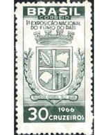 Ref. 170552 * MNH * - BRAZIL. 1966. 1 TOBACCO EXHIBITION IN SANTA CRUZ . 1 EXPOSICION DEL TABACO EN SANTA CRUZ - Unused Stamps