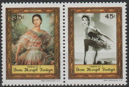 PANAMA - 1992 Margot Fonteyn Pair. Scott 796. MNH - Panama