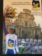 Santos Gonzalez - 3 Molinos - Vuelta Murcia - 2006 - Carte / Card - Cyclists - Cyclisme - Ciclismo -wielrennen - Cycling