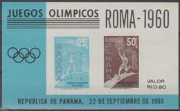 PANAMA - 1960 Olympic Games Souvenir Sheet. Scott C237a. MNH - Panama
