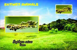 Vignettes De Fantaisie, Extinct Animals , Hyracoidea, Sogdohyrax Soricus - Fantasy Labels