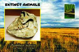 Vignettes De Fantaisie, Extinct Animals , Hyracoidea, Kvabebihyrax Kacheticus - Fantasy Labels
