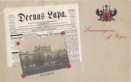RP: Riga , Latvia , 1900-10s ; Newspaper Style Postcard - Letonia