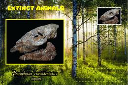 Vignettes De Fantaisie, Extinct Animals , Hyracoidea, Pachyhyrax Crassidentatus - Fantasy Labels