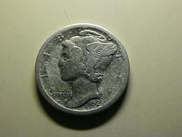 USA 1 Dime 1928 S Silver - 1916-1945: Mercury