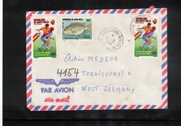 Upper Volta 1984 Interesting Airmail Letter To Germany - Upper Volta (1958-1984)