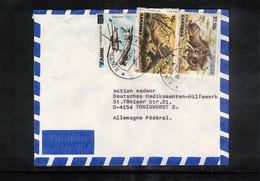 Zaire 1987 Interesting Airmail Letter To Germany - Other