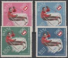 PANAMA - 1963 Olympic Games Airmail. Scott 447D-G. MNH - Panama