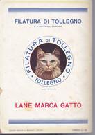 (pagine-pages)PUBBLICITA' LANE MARCA GATTO   Le Vied'italia1935/07. - Other