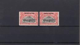 Ruanda-Urundi - 77/78  * MH - 1924-44: Mint/hinged