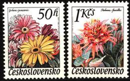 Czechoslovakia 1980 Mi 2574-2575 Flowers MNH - Nuevos