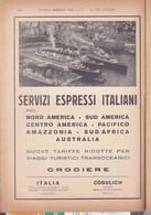 (pagine-pages)PUBBLICITA' SERVIZI ESPRESSI ITALIANI  Le Vied'italia1935/07. - Other