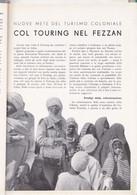 (pagine-pages)IL FEZZAN  Le Vied'italia1935/07. - Other