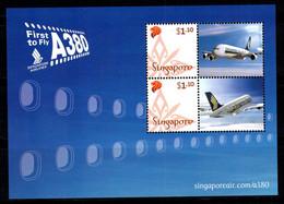 Singapour 2007 Mi. Bl. 131 Bloc Feuillet 100% Neuf ** Souhaits - Singapore (1959-...)