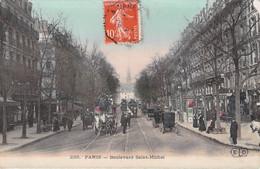 PARIS V° -- - Boulevard Saint Michel   Recto Verso - Paris (05)