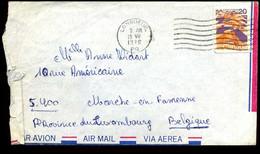 Canada - Cover To Marche-en-Famenne, Belgium - Covers & Documents