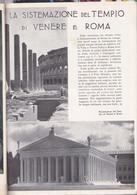 (pagine-pages)IL TEMPIO DI VENERE A ROMA  Le Vied'italia1935/07. - Other