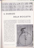 (pagine-pages)I 50 ANNI DELLA BICICLETTA  Le Vied'italia1935/07. - Other